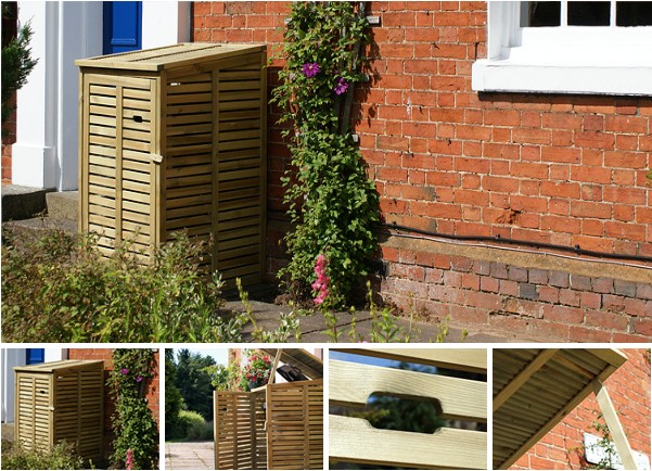Wheelie Bin Covers - & Garden Storage