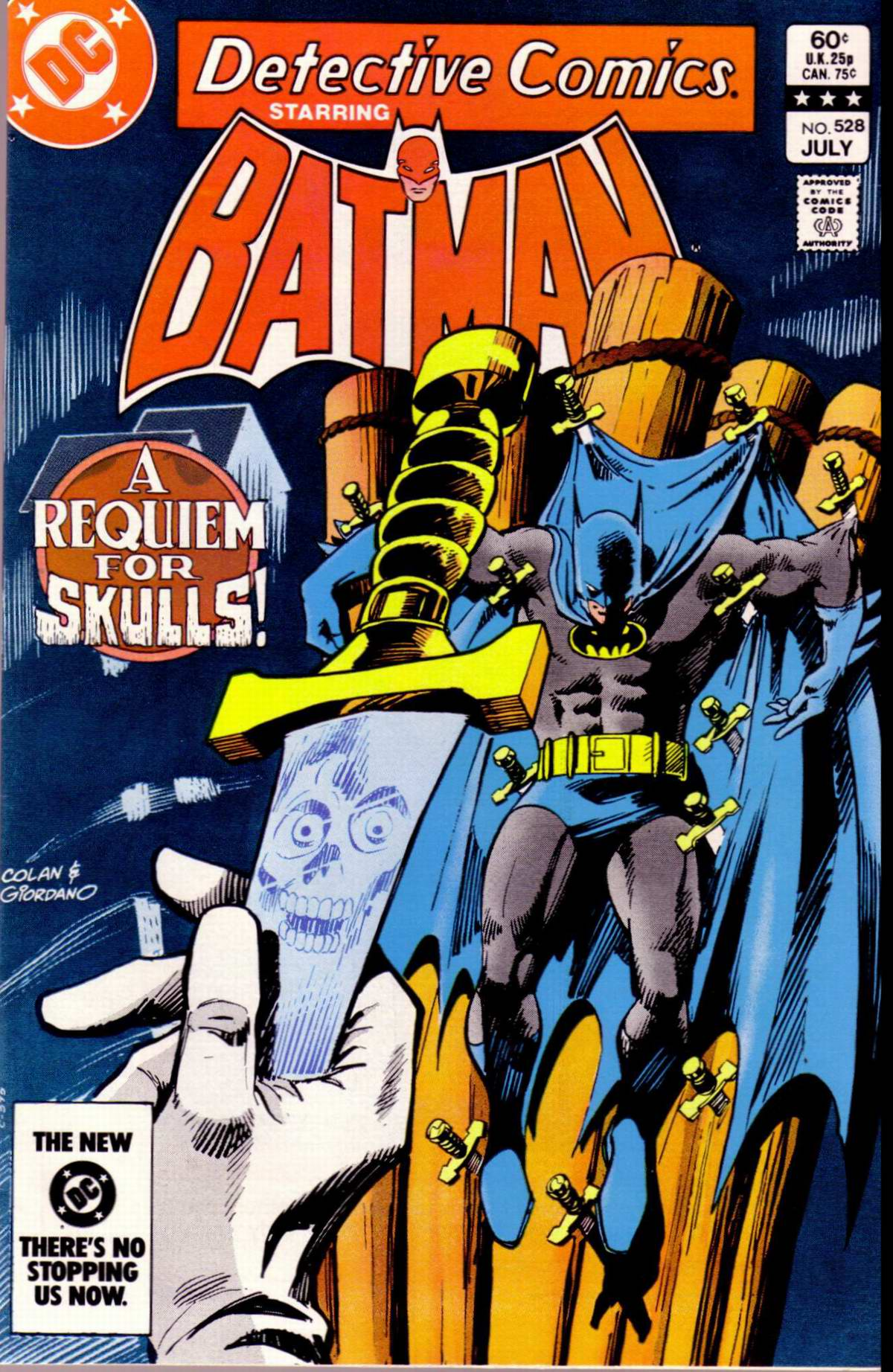 Detective Comics (1937) Issue #528 Page 1