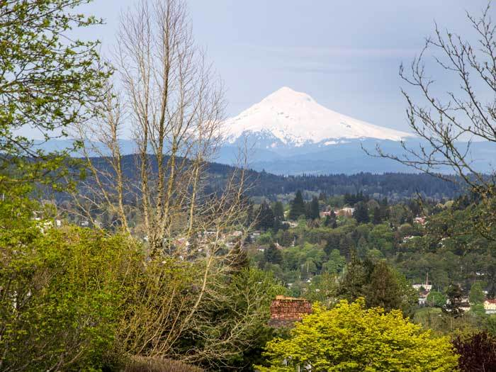 Mt. Hood from West Linn