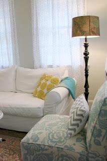 Just nesting house tour series living room for Living room ideas home goods