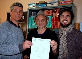 Airton Engster dos Santos, Marcelo Braun e Conrado Vier