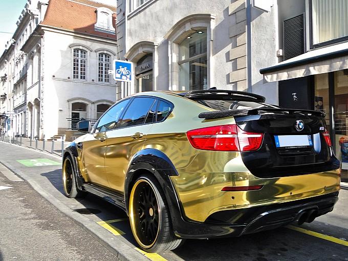 Le Magnum Opus Gold Bmw X6 Hamann Supreme Edition Photo