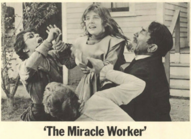 A Vintage Nerd, Classic Film Blog, Old Hollywood Blog, Classic Teacher Movies, The Miracle Worker