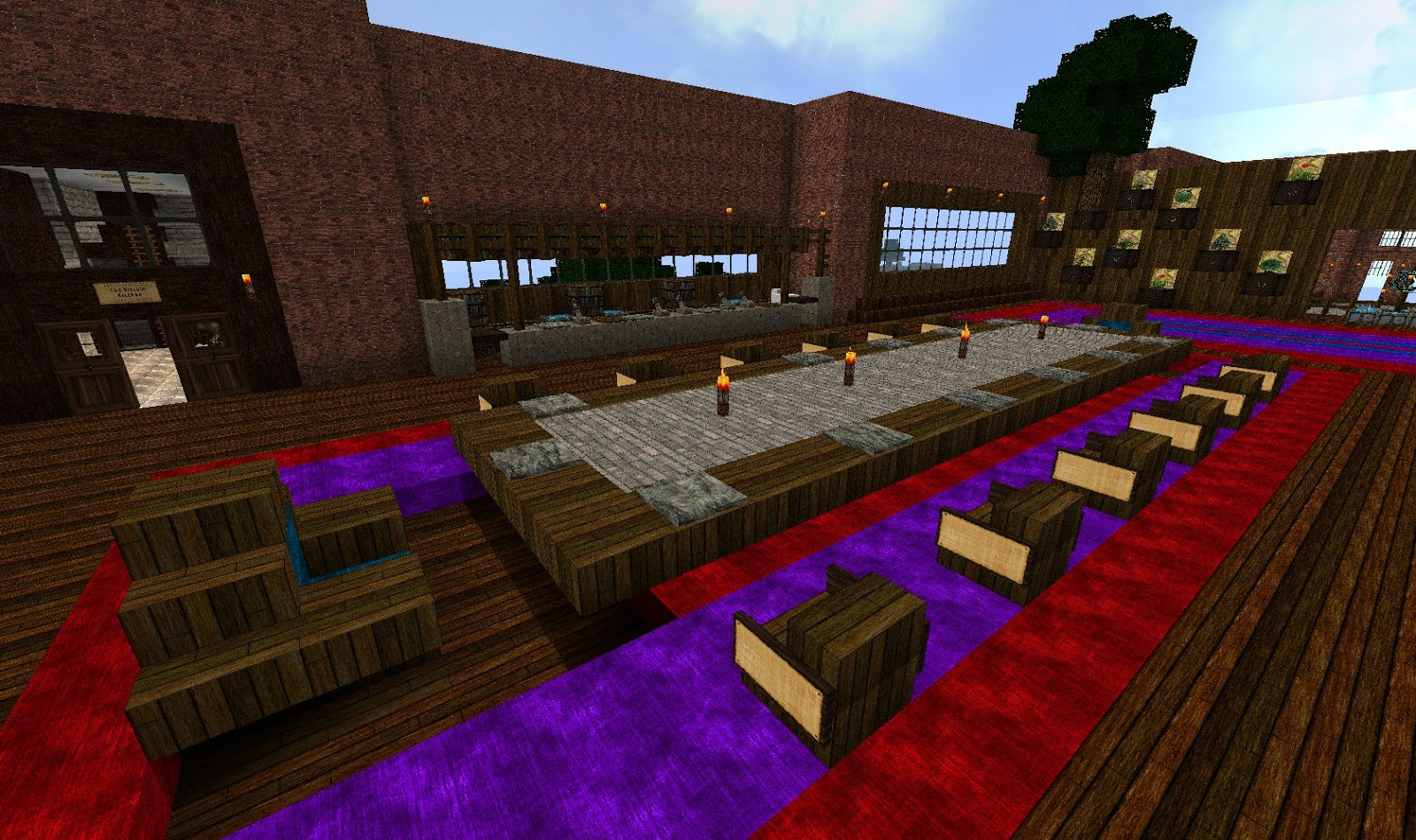 JD's Gaming Blog: Minecraft Creations: The Brick Mansion ...