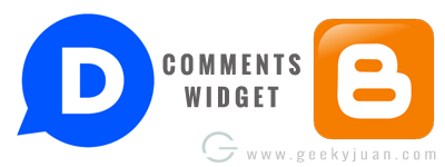Diqus comments widgets to Blogger - Geeky Juan