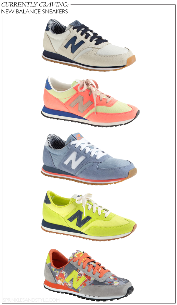Currently Craving: New Balance Sneakers || Sprinkles and Style
