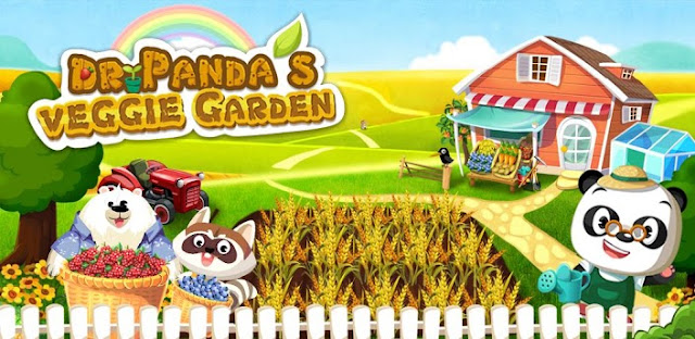Dr. Panda&#8217;s Veggie Garden v1.03 Apk