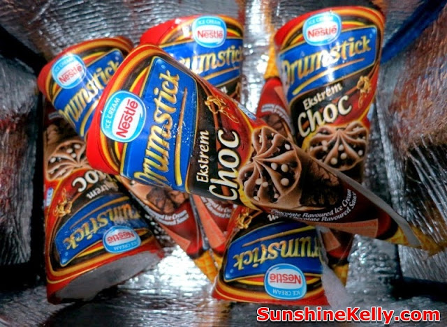 Nnestle DRUMSTICK Extreme Choc, ice cream, nestle products, nestle