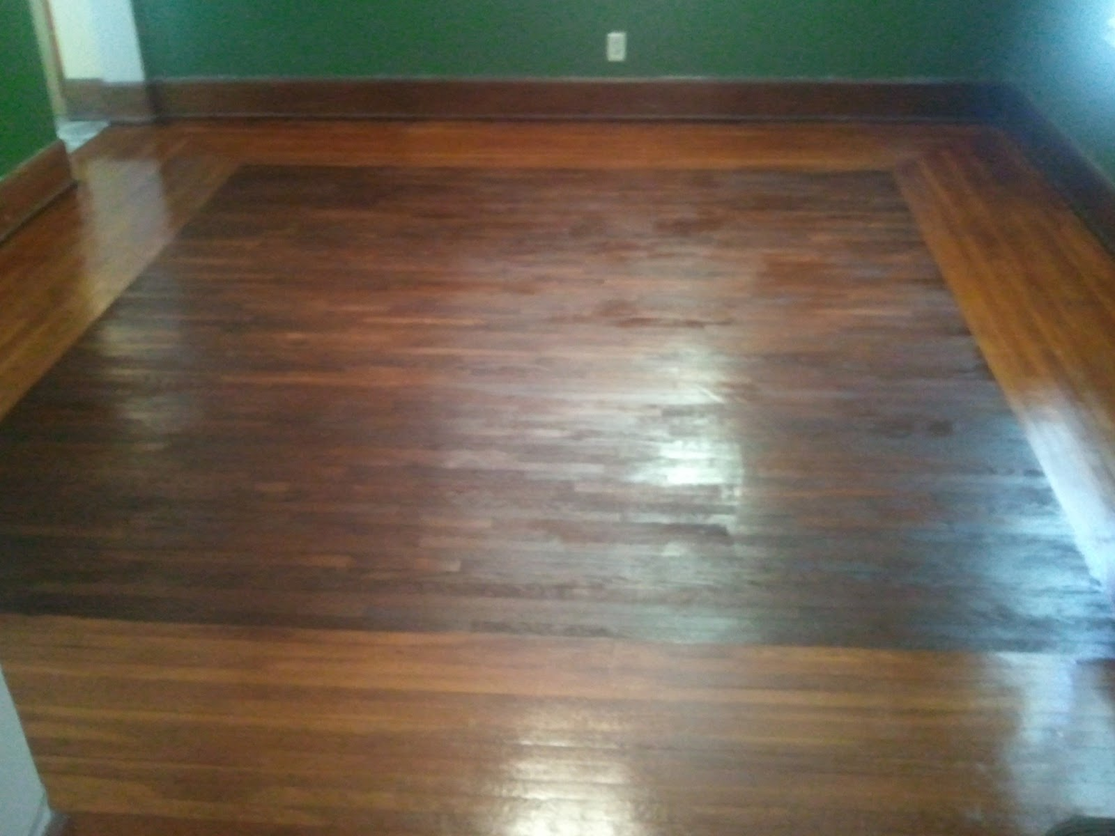 Minwax super fast drying polyurethane - We Debated About Getting A Rug But Decided It Defeated The Purpose Of The Two Toned Floor To Just Cover It Up So Here It Is With The Furniture Moved Back