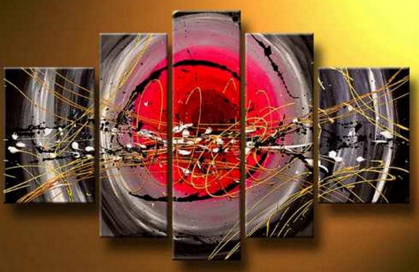 Cuadros modernos pinturas y dibujos cuadros tr pticos for Imagenes de cuadros abstractos con acrilicos