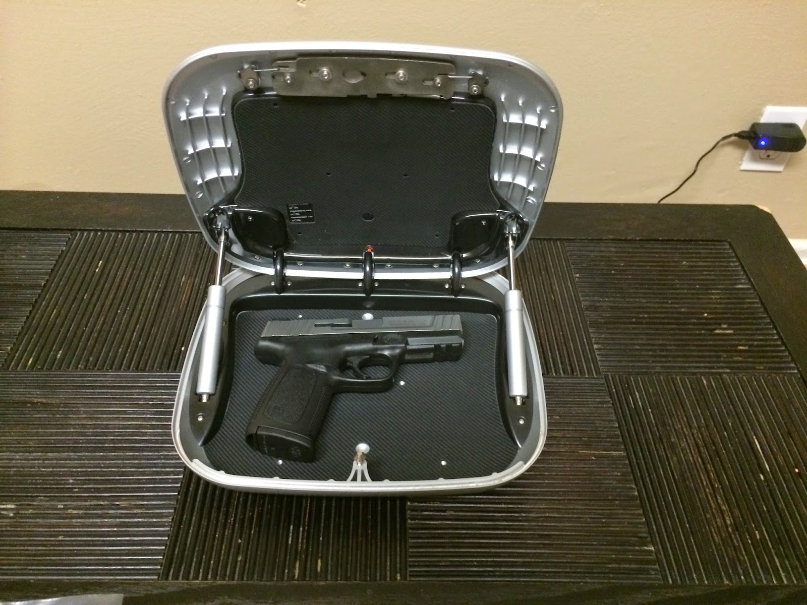 GunBox with handgun