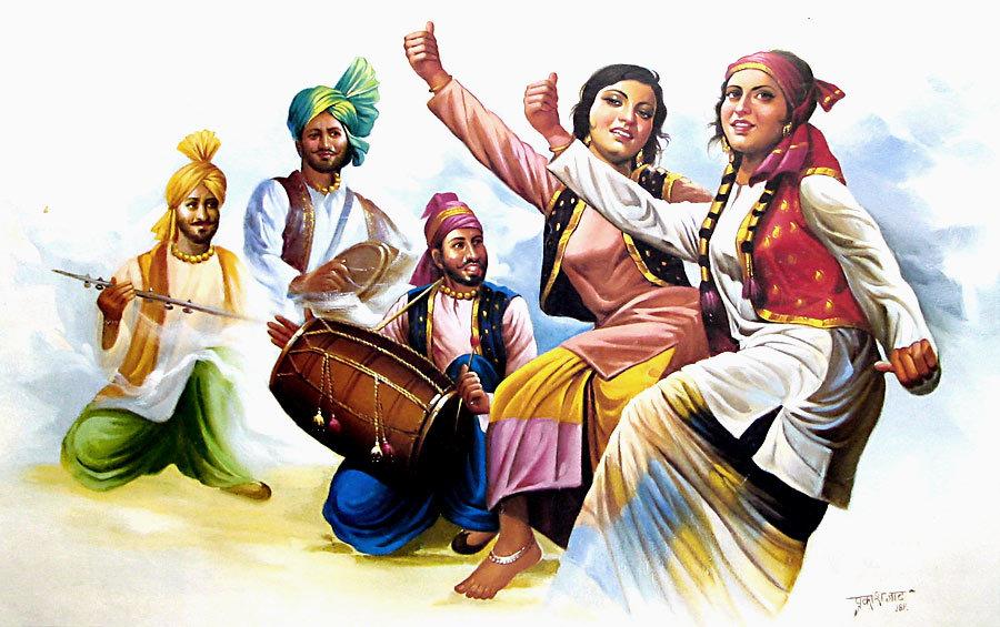 Indian Dance Cartoon