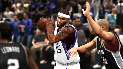 NBA 2K14 Demarcus Cousins Cyberface Patch