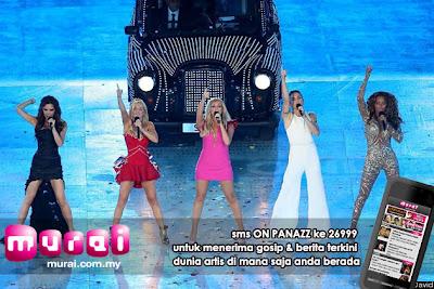 Betul Ker Persembahan Di Bonanza Muzikal Olimpik Adalah Yang terakhir buat Spice Girls? Olimpik, muzik, persembahan muzik, pesta muzik, Spice Girls, bonanza muzikal, persembahan, segmen persembahan, persembahan terakhir, upacara penutup olimpik, artis malaysia, berita, gambar, berita terkini, hiburan, selebriti