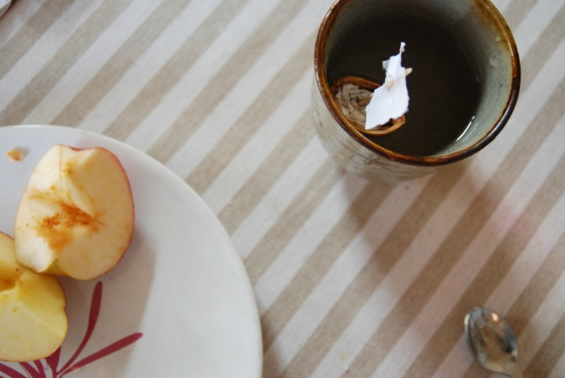 mele a merenda in autunno