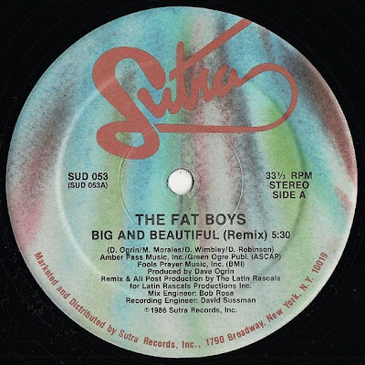Fat Boys ‎– Big And Beautiful (VLS) (1986) (256 kbps)