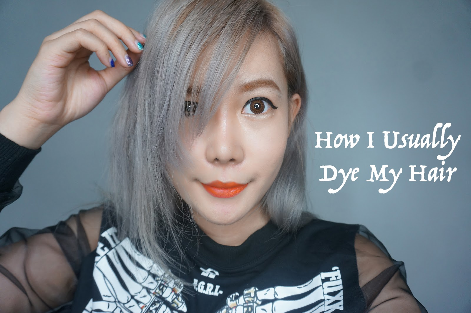 How i usually dye my hair asian ash blonde hair stella lee how i usually dye my hair asian ash blonde hair solutioingenieria Image collections