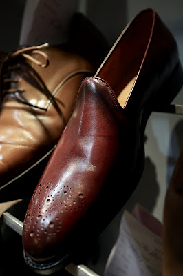 Justin Fitzpatrick, the Shoe Snob, launches his shoes