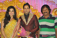 Celebraties at Actor Bharat n Jessy Wedding Reception Photos+%2528102%2529 Actor Bharath n Jessy Wedding Photos