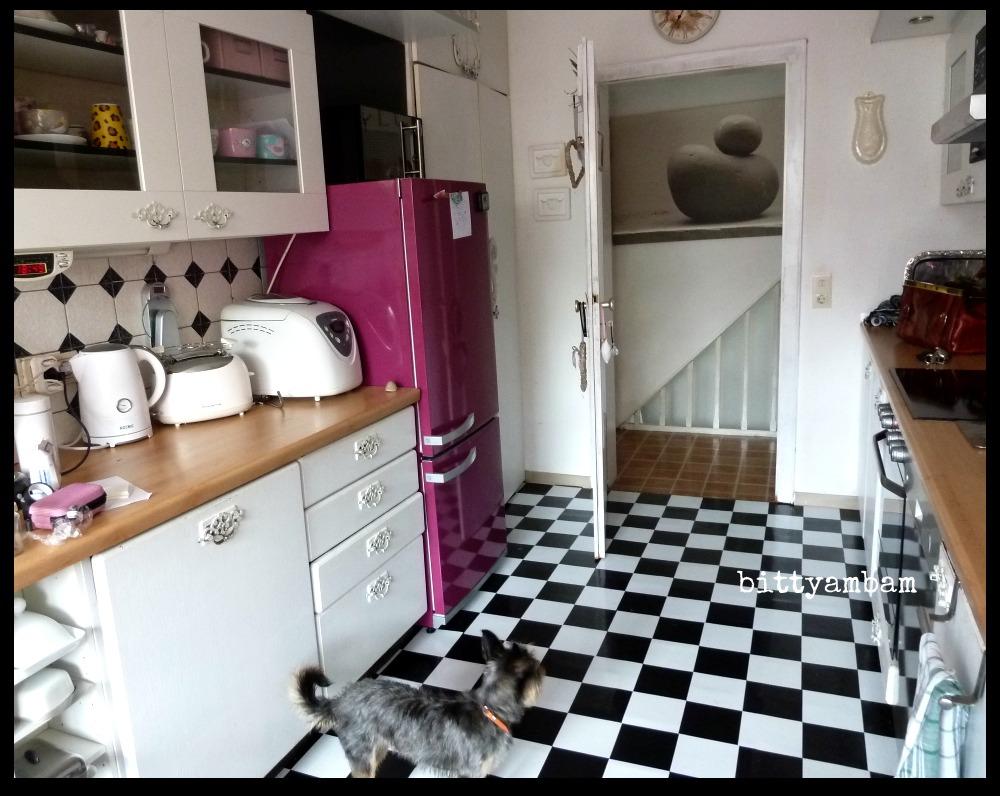 kuchenschranke bekleben vorher nachher : Vorher - Nachher finde den Unterschied