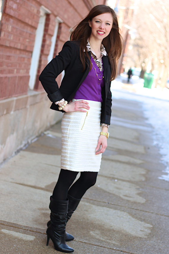 Black, Cream, Purple, Snake | StyleSidebar