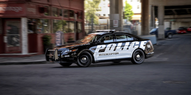 Ford Police Interceptor Special Service Police Sedan: AKA The Slow Squad