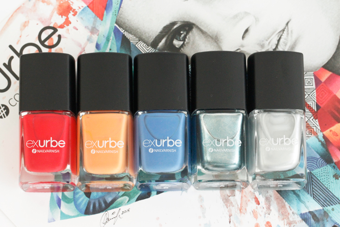 exurbe Nail Polish Collection: Pacific Moments by mon.mon.