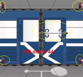 100 doors level 44