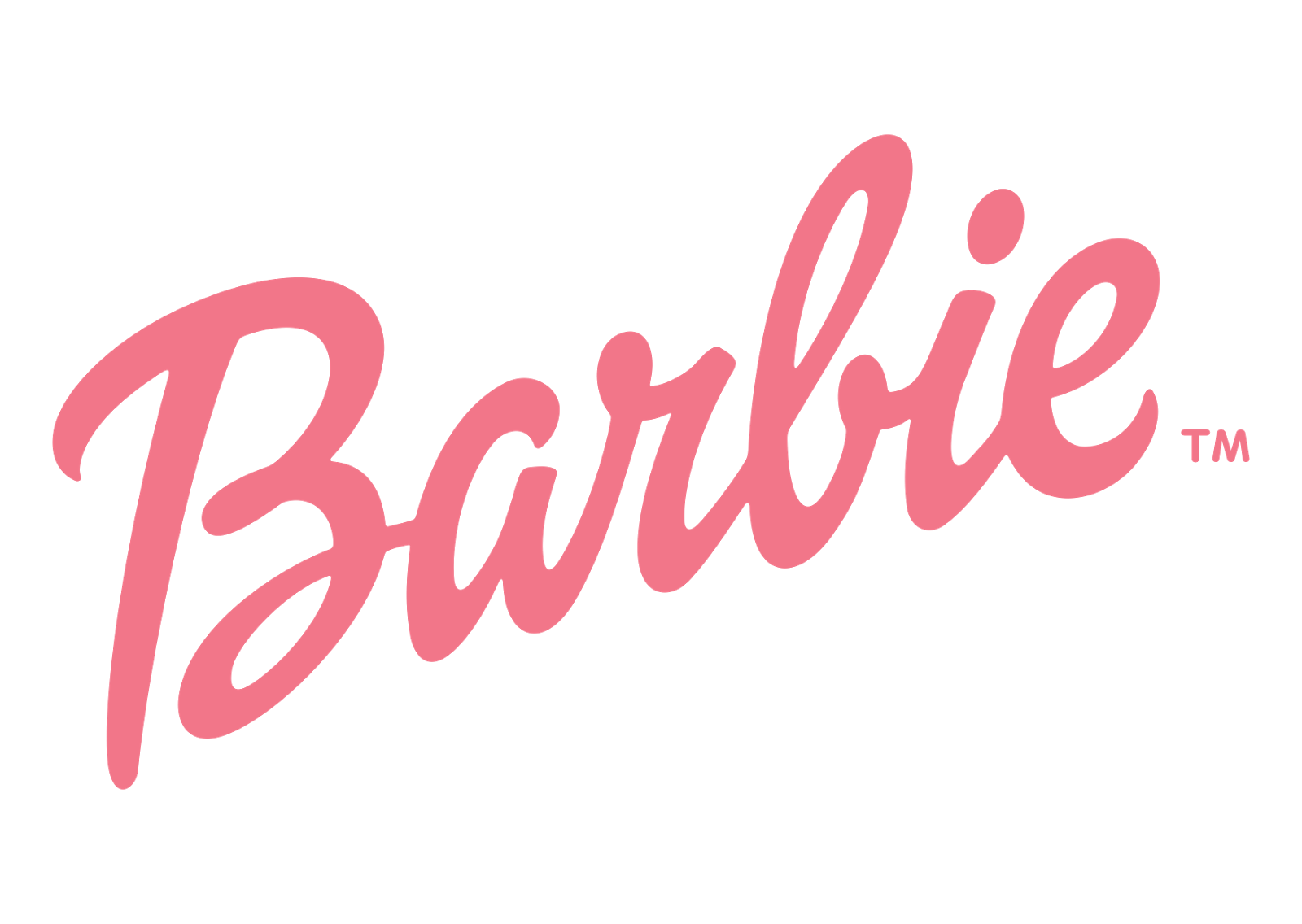 Barbie Logo Vector ~ Format Cdr, Ai, Eps, Svg, PDF, PNG