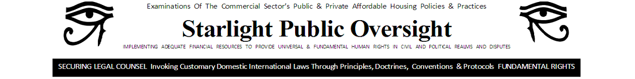 Starlight Public Oversight
