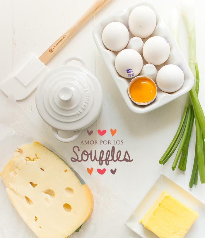 Amor por los Souffles Souffle de Queso y Souffle de Chocolate