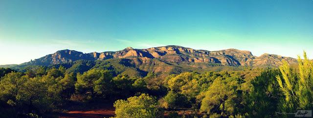 la mola paisaje panoramica