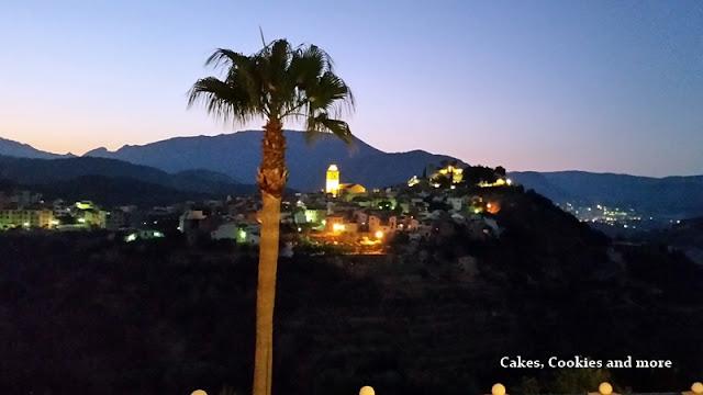 Blick von La Nucia nach Polop