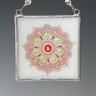 Mandala Suncatcher by Wishartglass