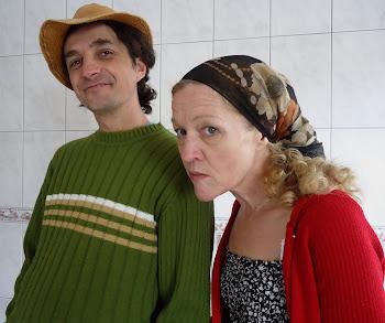 Dividindo a cena com a Cida Rolim