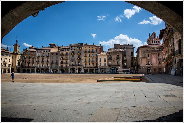 Vic, Catalunya: Plaça Major