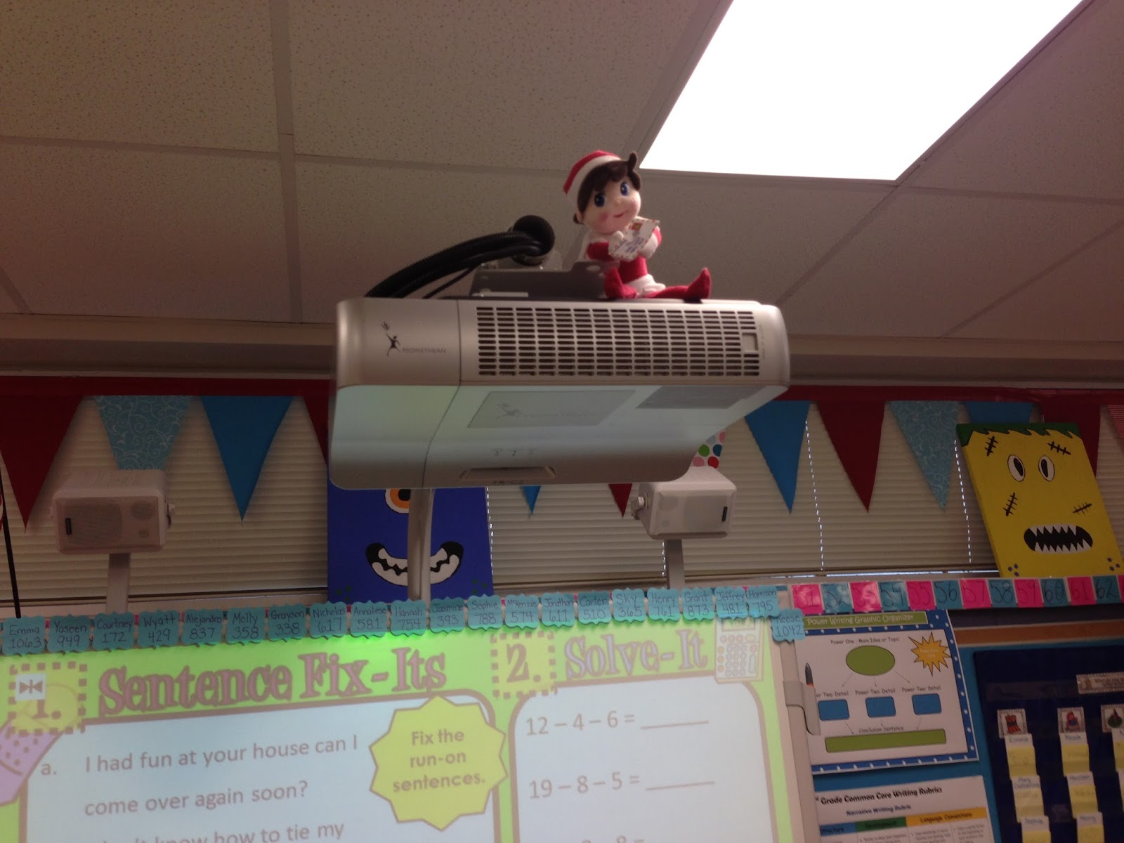 Teaching Ideas In The Classroom ~ Elfcapades elf in the classroom random acts of kindness