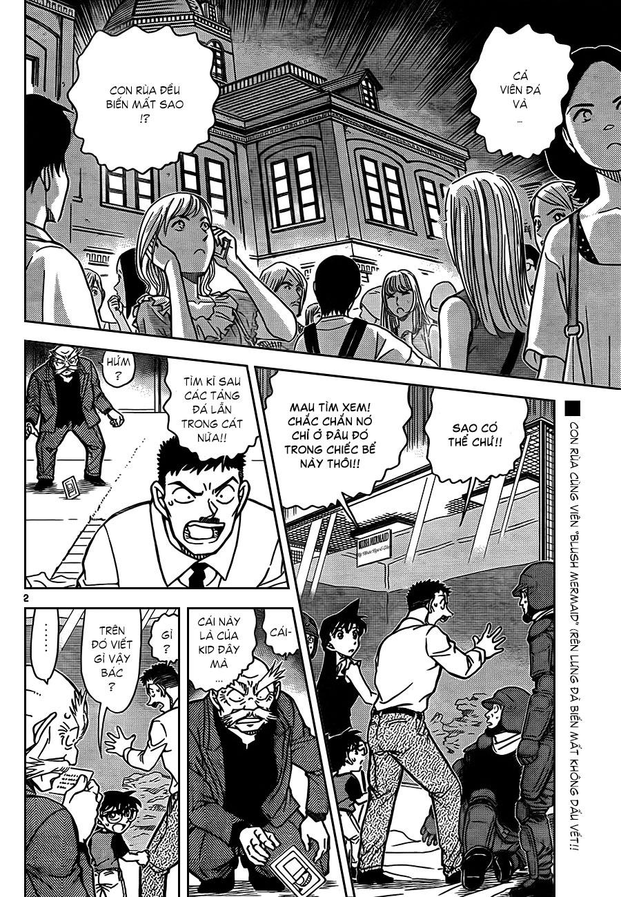 Detective Conan - Thám Tử Lừng Danh Conan chap 829 page 4 - IZTruyenTranh.com