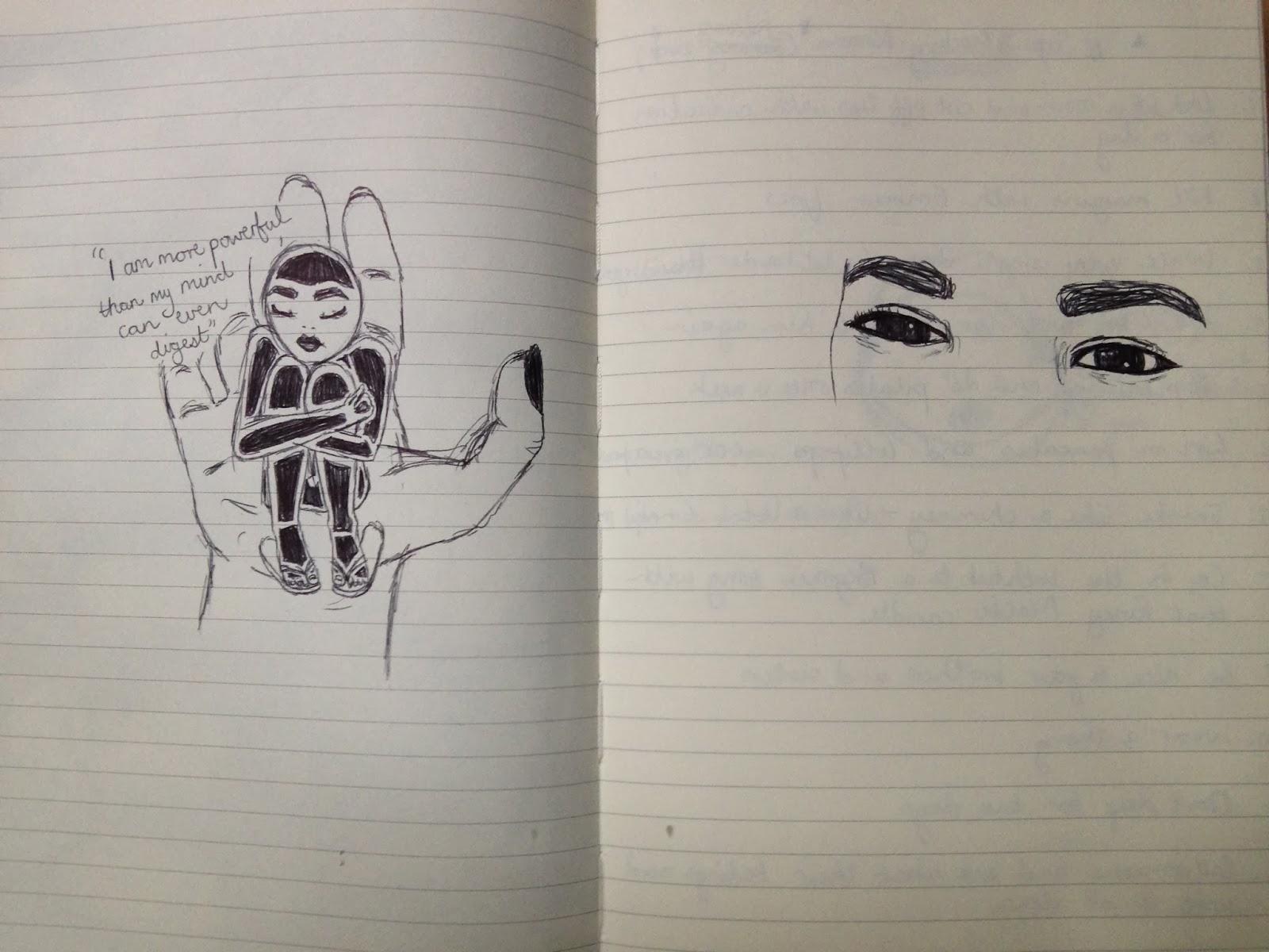 journal drawings starbucks moleskin