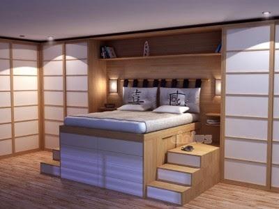 Camas para dormitorios peque os ideas para decorar - Sillones pequenos para dormitorios ...