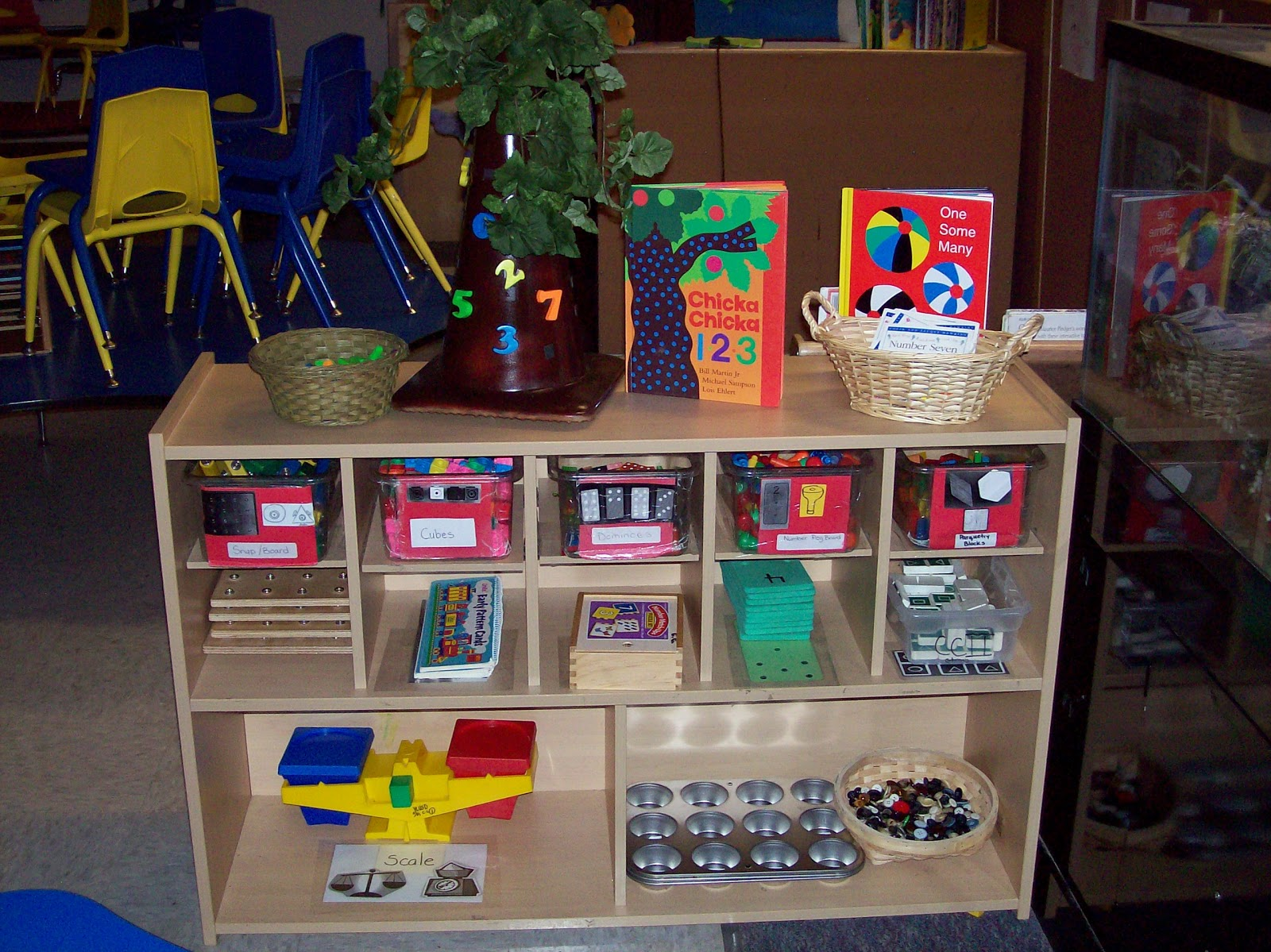Classroom Center Ideas ~ Learning and teaching with preschoolers math rich