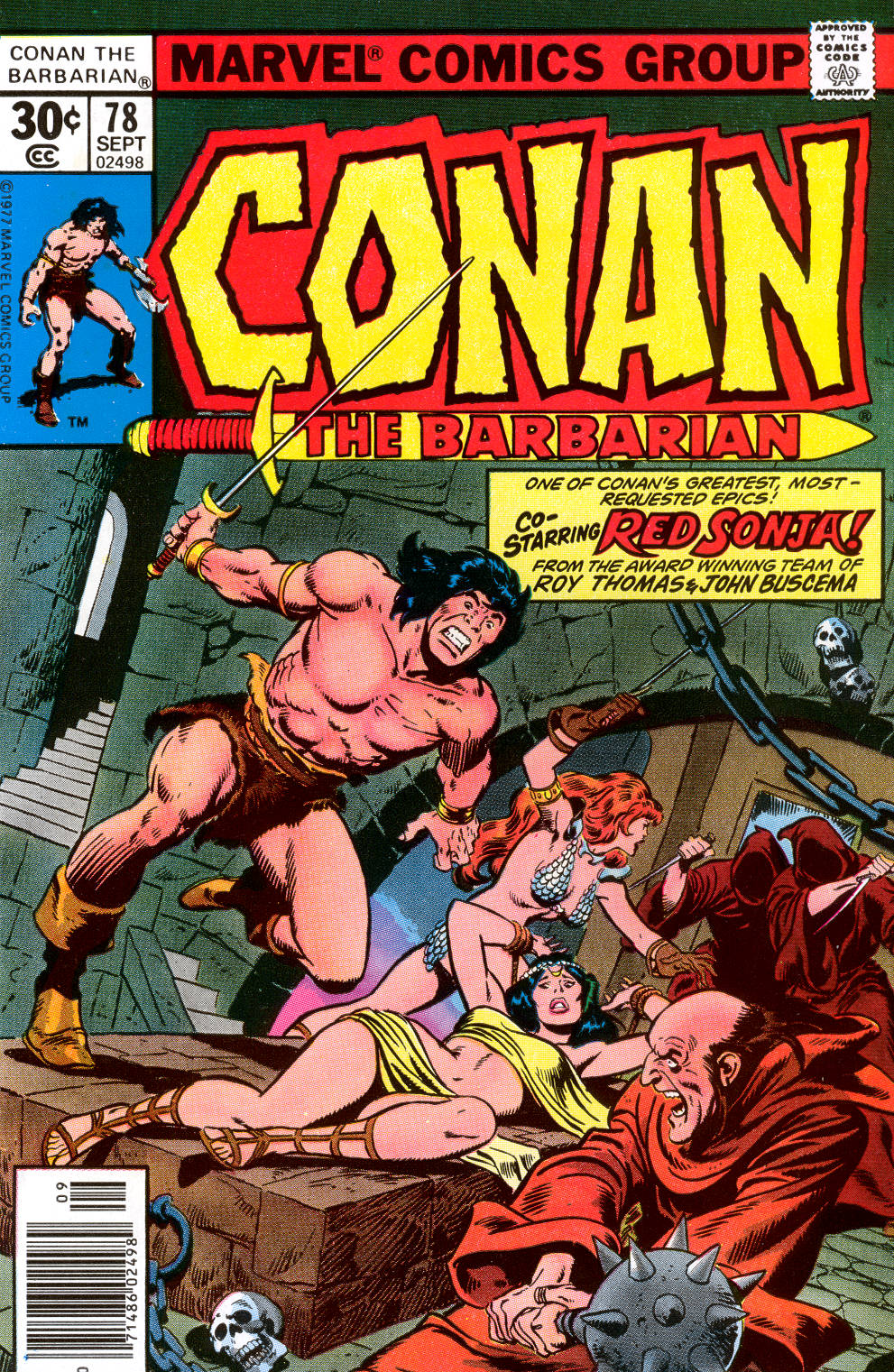 Conan the Barbarian (1970) Issue #78 #90 - English 1