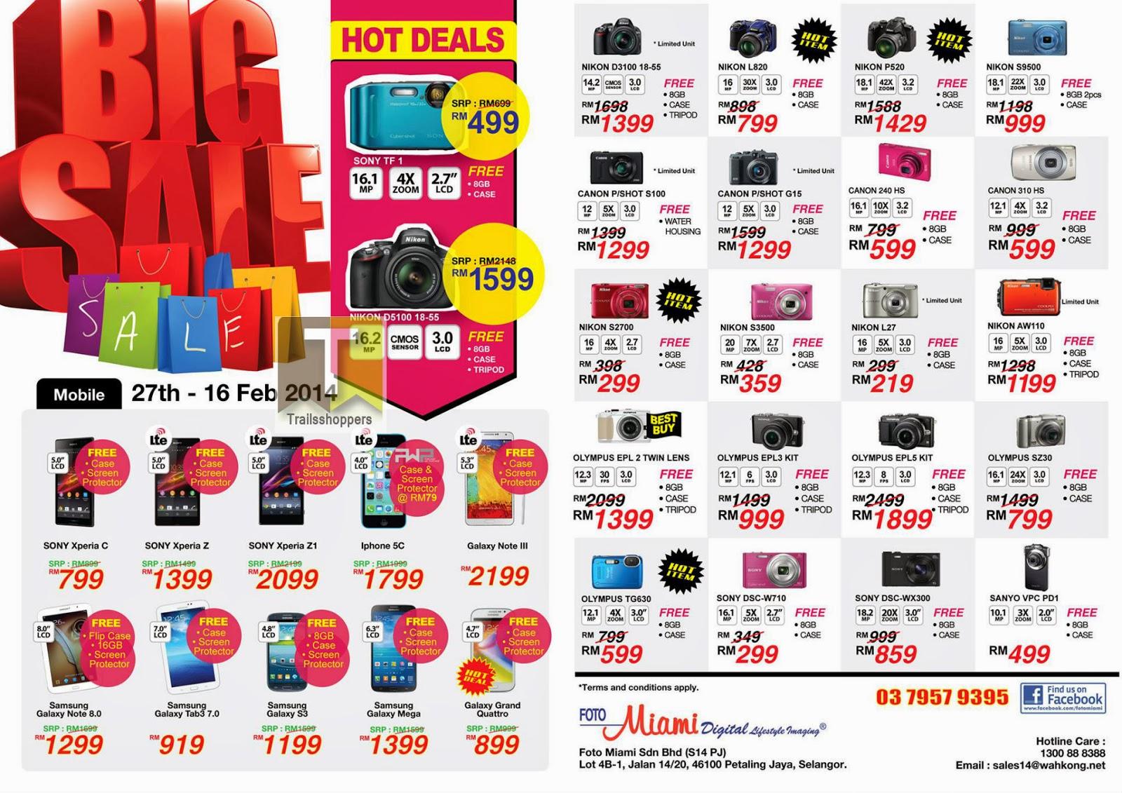Foto Miami Chinese New Year Big Sale Camera Smartphone PJ Selangor