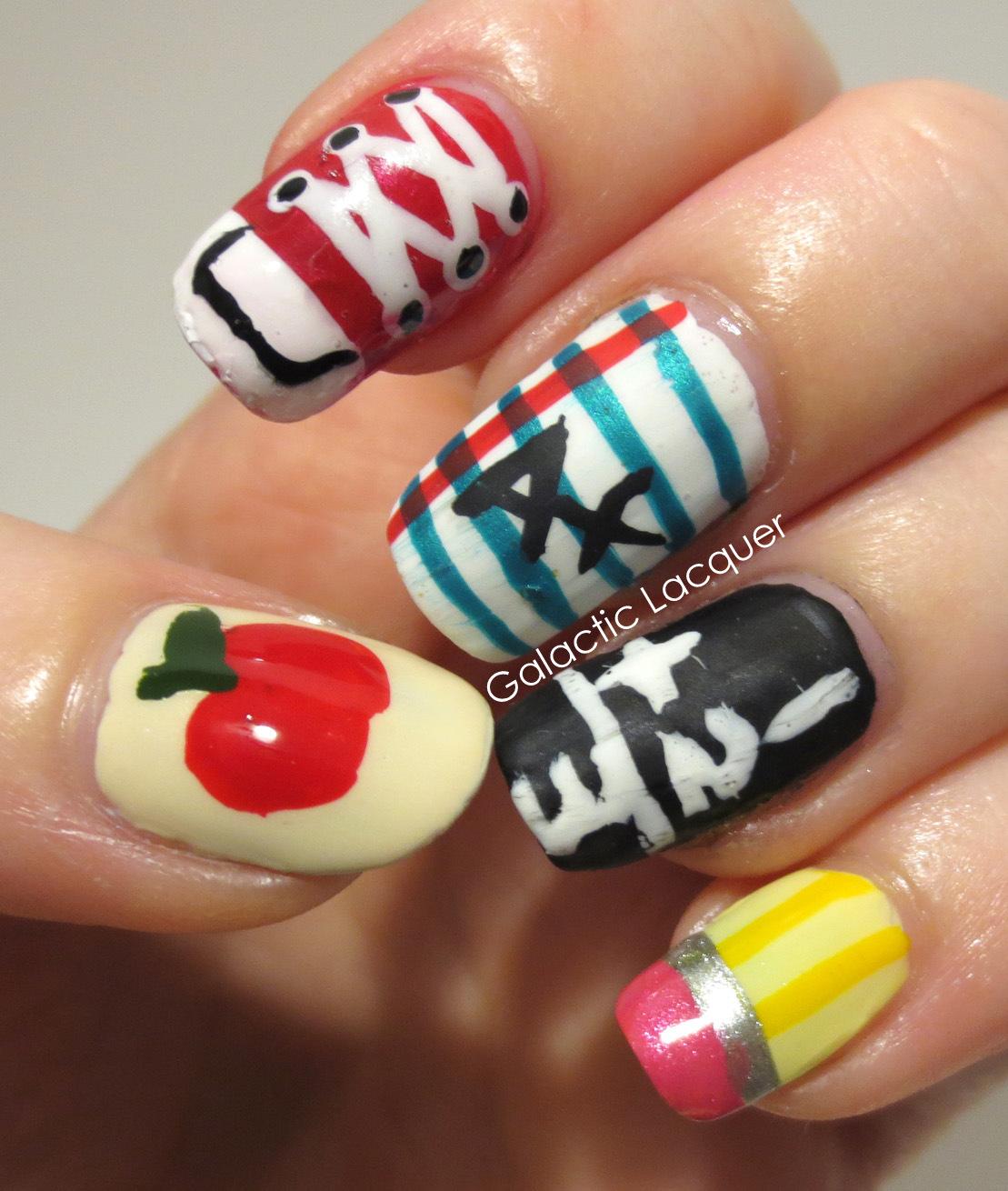 Nail Cute: Graduation Nails On Pinterest