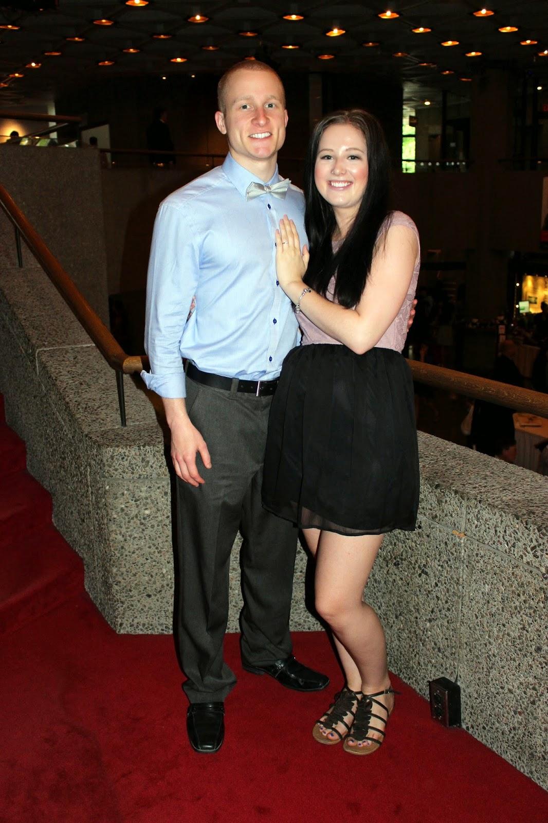 Graduation Ceremony Couple