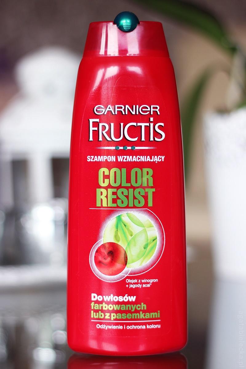 jestem ciekawa czy kiedykolwiek go uywaycie i jakie macie zdanie na jego temat - Fructis Color Resist