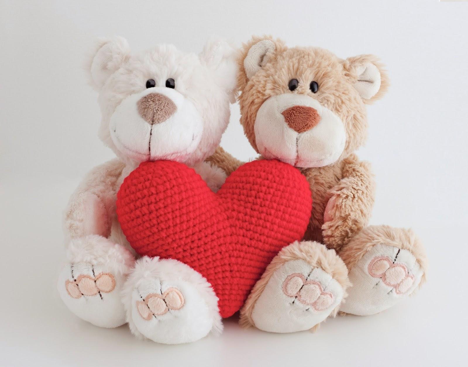 Amigurumi corazon heart
