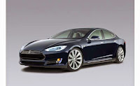 Tesla Model S, Electric Luxury Midsize Sedan