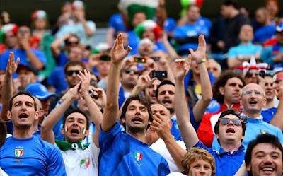 Hasil Italia Vs Kroasia