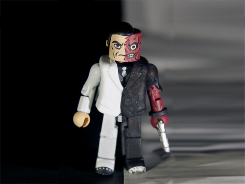 Arkham City Two-Face Minimate